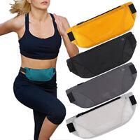 KE_ Waterproof Sport Waist Belt Bum Pouch Fanny Pack Camping Running Zip Bag B