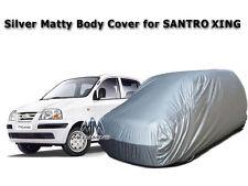 Car Body Cover of/ for SANTRO XING / Hyundai SANTRO XING Silver Matty Body Cover