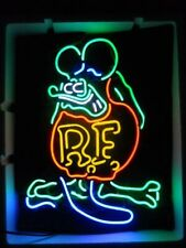 "New Rat Fink Rf Neon Sign Beer Bar Pub Gift Light 20""x16"""