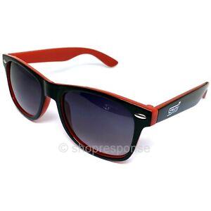 Subaru STi Sunglasses Shades Black & Red UVA/UVB Protection Official Genuine