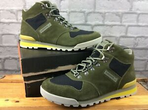 MERRELL MENS UK 8.5 EAGLE SUEDE DUSTY OLIVE WALKING BOOTS EP **TWO DIFF SIZES**