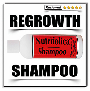 HAIR GROWTH SHAMPOO regrowth male pattern loss thinning & no side effects regrow