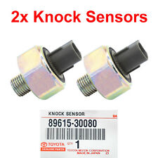 2x OEM DENSO Knock Sensor fit LEXUS GS430 LS430 SC430 RAV4 SOLARA 89615-30080