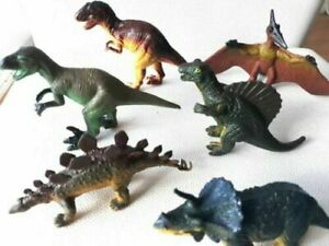 Dinosaurs plastic toy animal figures toys children prehistoric school Dino