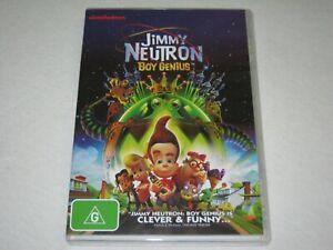 Jimmy Neutron - Boy Genius - Brand New & Sealed - Region 4 - DVD