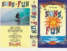 SURFING ~SONS OF FUN  VHS PAL VIDEO~ A RARE FIND