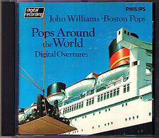 John WILLIAMS & BOSTON POPS AROUND THE WORLD Cowboys Kabalevsky Suppe Glinka CD