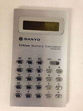 SANYO CX-8179 L  CALCULATOR 1975 VINTAGE RARE