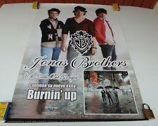 JONAS BROTHERS A LITTLE BIT LONGER ORIGINAL POSTER UNIVERSAL MUSIC COLOMBIA 2008
