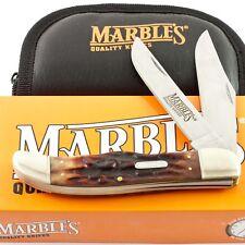 Marbles Stag Bone Handle Large Folding Hunter Pocket Knife MR118 Hunting