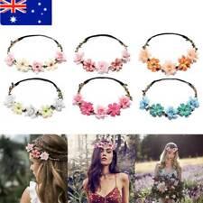 Girl Floral Crown Flower Headband Bride Wedding Party Fashion Hair Accessories