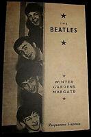BEATLES Concert Programme Retro 60s Paul McCartney John Lennon Old Liverpool UK