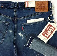 Levi's 501 XX Big E Selvedge Cinch Back Jeans Cropped Vintage Men Sz 32  A4-7