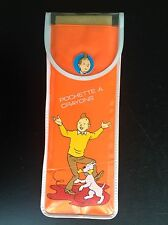 Pochette à crayons Tintin Lombard 1985 TBE