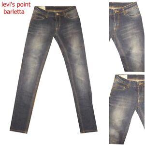 Jeans dondup donna lambra Slim Skinny p622 elasticizzato azzurro taglia w27