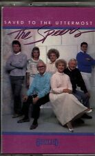 """THE SPEERS...""""SAVED TO THE UTTERMOST""""......RARE HTF OOP GOSPEL CASSETTE"""