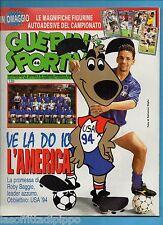 GUERIN SPORTIVO-1993 n.46- BAGGIO-TRAPATTONI -NO FIGURINE