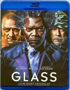 Glass by Bruce Willis & Samuel L.Jackson (BlurayDVD, 2019)