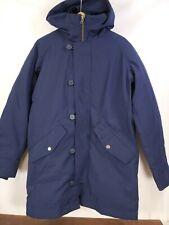 NWT $200 GAP Men Navy Snorkel Parka Jacket Coat / Hood Warm Sz Small
