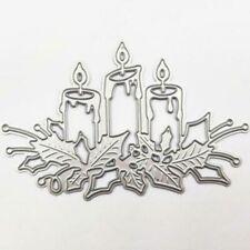 Brennende Kerze Stencil Cutting Dies Scrapbooking Stanzschablone Album Tagebuch