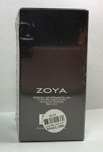 ZOYA Nail Polish NOIR MATTE VELVET Black Lacquer Discontinued Original Package