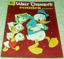Walt Disney's Comics and Stories 184,  FN- (5.5) Three Un-Ducks!  50% off Guide!