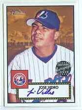 2001 Topps Heritage Certified Autograph Jose Vidro X/200
