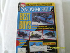 VINTAGE ARCTIC CAT + SNOWMOBILE  MAGAZINE NOV..1993. BEST BUYS:  86 PAGES