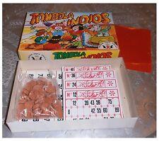 "Tombola classica ""Indios"", Stella, 48 cartelle, vintage, bingo, lotto"