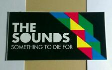 THE SOUNDS SOMETHING TO DIE FOR AMP CASE STICKER