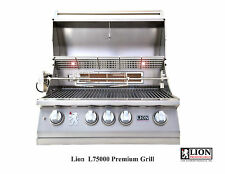 "LION L75623 4 BURNER 32"" DROP IN/BUILT IN BBQ ISLAND GAS GRILL- NG - NATURAL GAS"