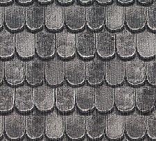 Dolls House Miniature Slate Tiles Roofing Card DIY A3 (47cm x 32cm) DIY 648