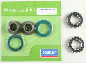 SKF Rear Wheel Bearing & Seal Kit 20mm Axle KTM 2000-2012 SX XCF FC 250 350 450