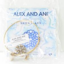 Alex and Ani 2016 Snowflake Bracelet Limited Ed A16EBBFXRG Rafaelian Gold SEALED