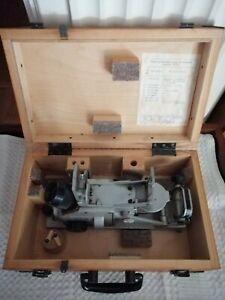 RETRO ORIGINAL USSR NAVY SEXTANT, OPTICAL DIRECTION FINDER PGK-2 (ΠΓΚ-2) IN BOX