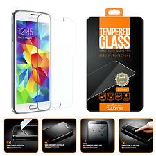 Pellicola Vetro Temperato per Samsung S4 I9500 Proteggi Schermo Antigraffio