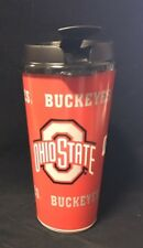 Ohio State Buckeyes Game Day Single Wall Travel Cup Tumbler Plastic Mug 32oz