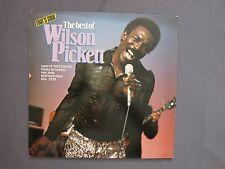 "LP 12"" 33 rpm 1980 WILSON PICKETT - THE BEST OF - THAT'S SOUL SERIE - ATL 50750"