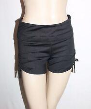 urbane activ Brand Black Ruched Sides Shorts Sportswear Size 8-XS BNWT #SU17