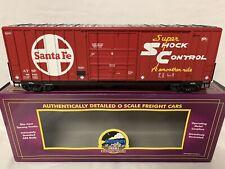 ✅MTH PREMIER SANTA FE 50' HIGH CUBE BOX CAR 20-93239! O SCALE HI BERWICK TRAIN
