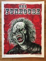 THE FUNHOUSE  - MOVIE POSTER 18x24- Limited Edition Signed Secret Movie club