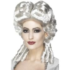 Marie Antoinette Wig Ladies White Victorian Fancy Dress Accessory