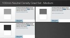 Lee 150 x 100mm (ND) Neutral Density Medium Grad SET ( 3 filters)