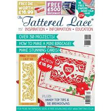 Tattered lace magazine stephanie issue 31 free die délicate gate