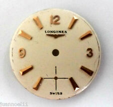Esfera LONGINES SWISS 20mm Original Dial reloj LONGINES 19.4