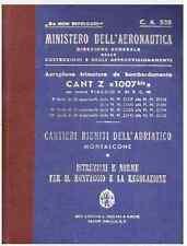 CANT Z 1007 BIS 1940 CA538 ALCIONE AIRCRAFT REGIA AERONAUTICA Manual - DVD
