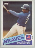 1985 Topps Baseball Atlanta Braves Complete Team Set