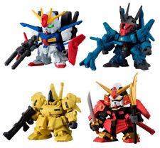 Bandai SD Gundam Senshi Forte Gashapon Figure 06 ZZ The-O Doven Musha 4 pcs