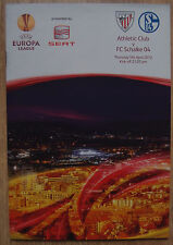 Programm Schalke 04 UEFA Europa League 11/12 EL Athletic Club Bilbao vs. S04