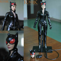 "1/6 KUMIK KMF029 Female Catwoman Bodysuit KMF029 12"" Action Figure doll Set Toys"